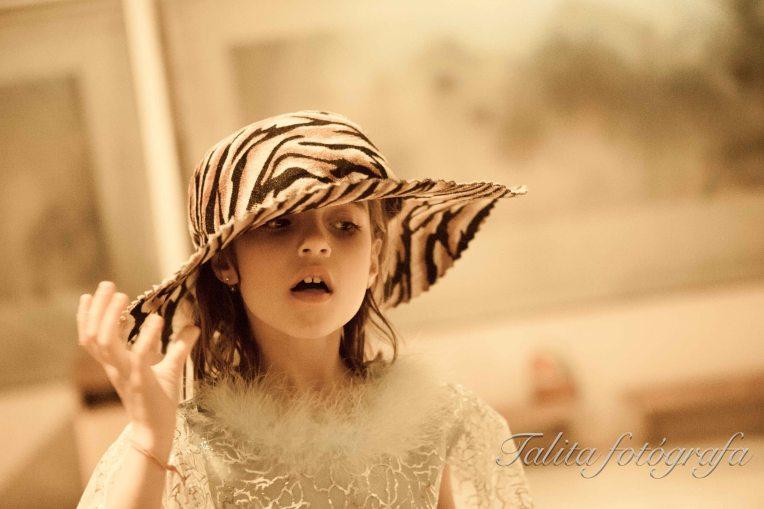 de chapéu